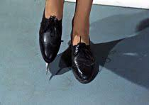 "Lotte Lenya's shoes in ""From Russia with Love."