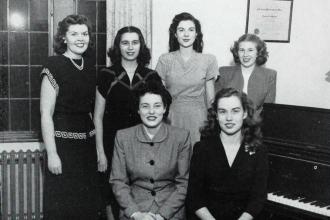Delta Phi Delta - 1947 Lindenwood College for Women