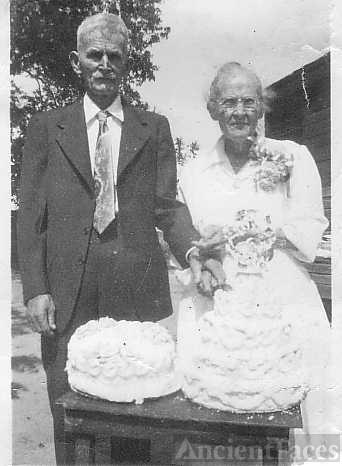 50th Wedding Anniversary 1953
