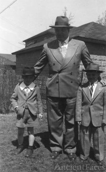 Bill, Dad, Anthony
