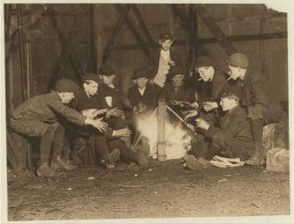 Jefferson St. Gang of newsboys
