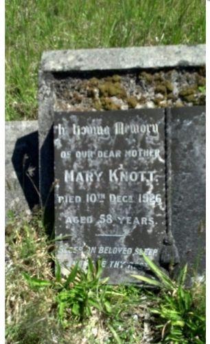 Mary Knott gravesite