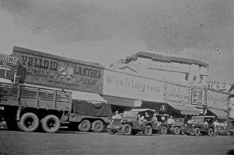 World War 2 convoy