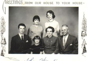 Medley & Mildred Ward Family 1959