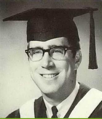Raymond John Doudell - 1967 SCU Graduation Photo