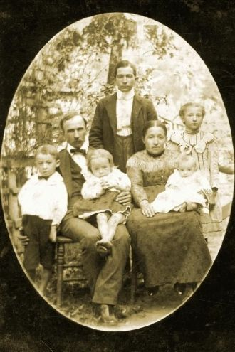 Elijah R. and Mary Inglis family