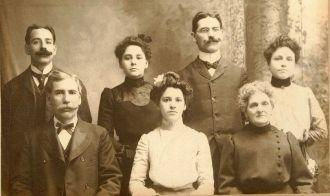 Charles Avon Blondin Family