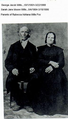 George Jacob Wills and Sarah Jane Moore