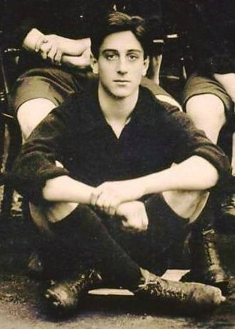 Basil Rathbone, young
