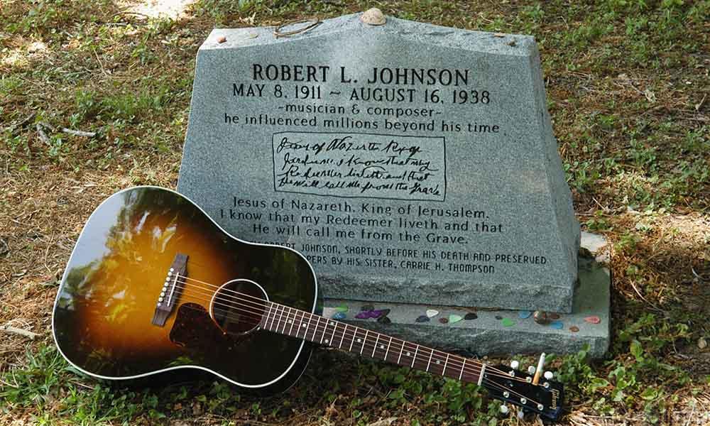 Robert's grave.