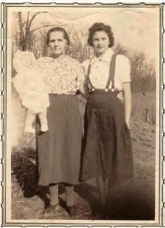 Eliza and Effie Howard