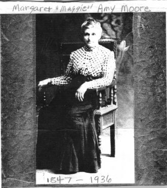 Margaret Amy MOORE SHROYER