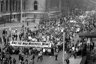 New York, Vietnam Peace Parade