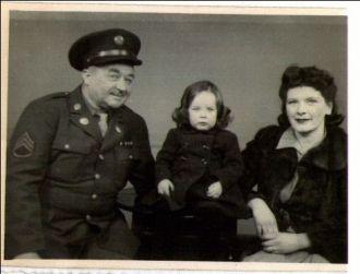 Charles & Naomi (Fender) Bausch, 1944