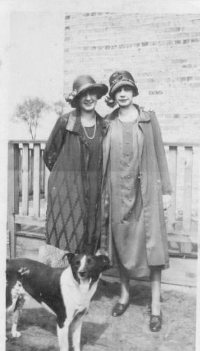 Anna Louise Heidke Long and Friend