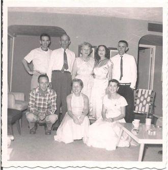 McCarter Family in 1957