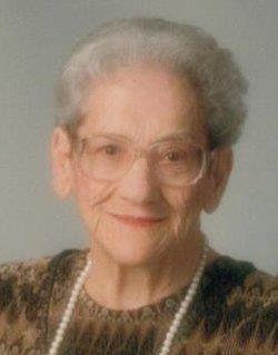 A photo of Flossie Mae (Wicker) Corkhill