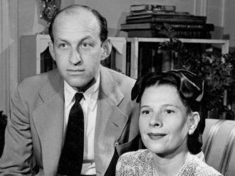 Garson Kanin and Ruth Gordon.