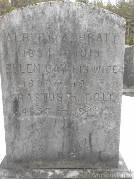 Erastus  Hillman Cole gravesite