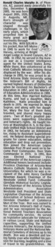 Ronald Charles Murphy Jr.--obituary
