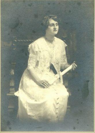 Alice M Quinn, graduation