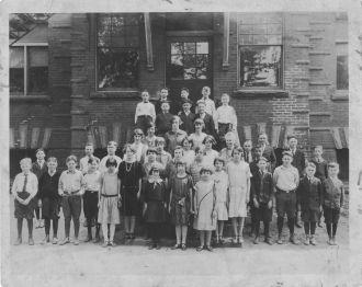 Galion, Ohio North School c1925