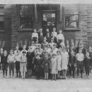 Galion, Ohio North School c1925