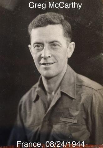 Greg McCarthy, 1944
