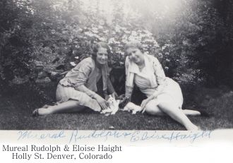 Mureal Rudolph and Eloise Haight