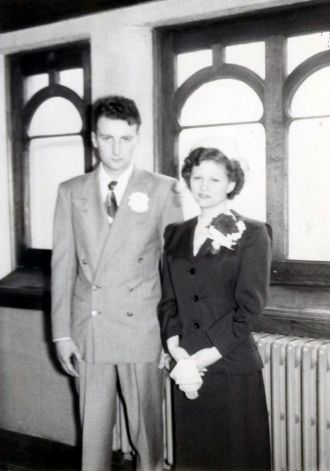 Wolner Wedding Day, 1951