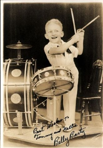Billy Barty on Drums