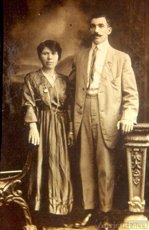 Italian man and woman