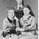 Three daughters of Lorenzo Ackerman