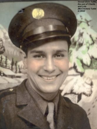 Versell Tuttle in the U.S. Air Corps-WWII