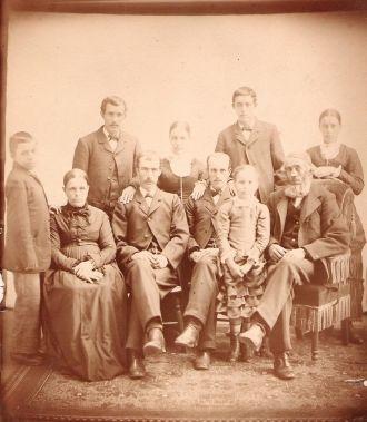 Jacob & Elizabeth (Garver) Keller Family, Illinois