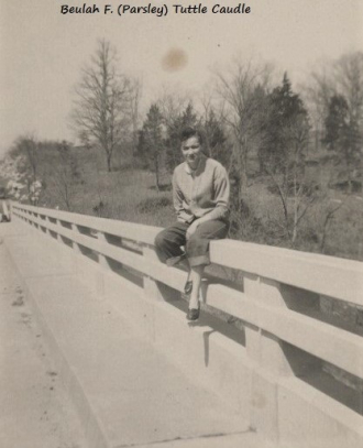Beulah (Parsley) Tuttle, c.late 1940's