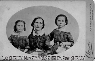 Lucy, Mary, & Sarah, ca1860