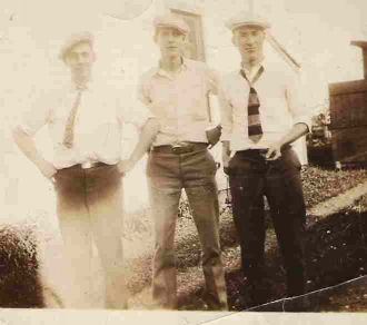 Edward Money, William Dildine, Harold Booth
