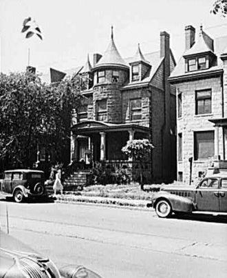 Charles A. Lindbergh home