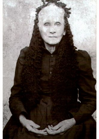 Hannah Jane Hickey Hatfield B 1853
