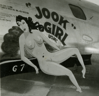 Jook Girl Nose Art