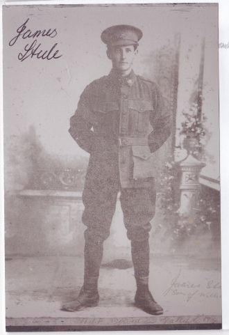 A photo of James Arthur Steele
