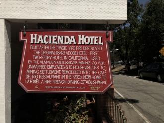 Hacienda Hotel - La Foret in New Almaden