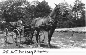 Dr. William Pinkney Weaver, Mississippi