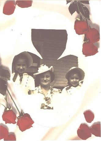 Erma Grace Szabo with daughters.
