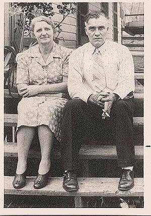 Mary Susan Hicks Pinson and John Wesley Pinson