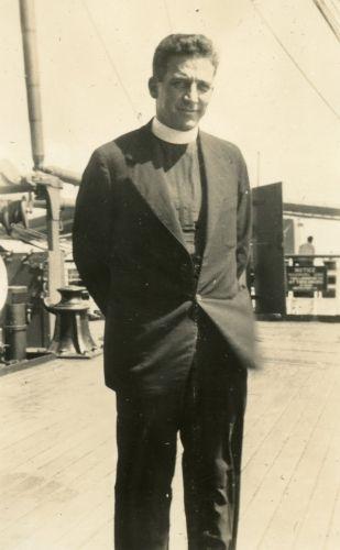 Fr. Fred Berigan, Missionary, Jamaica 1934
