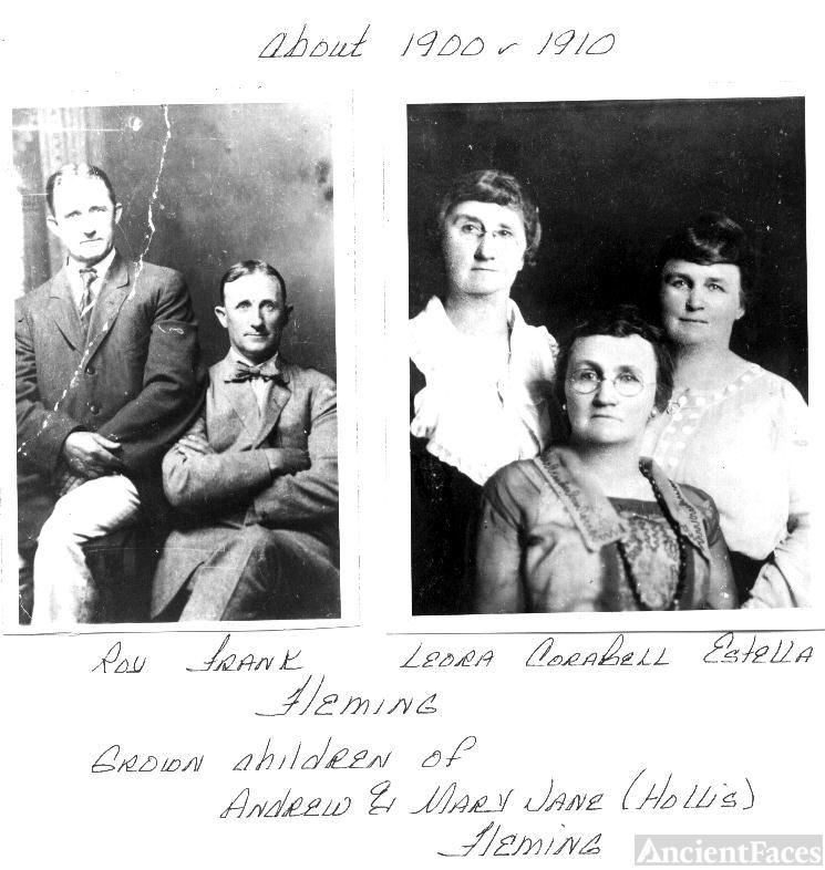 Melroy Elmer 'Roy' FLEMING &  his siblings