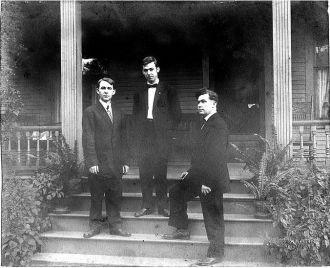 Victor, Charlie, & Harold Leonidas Thrall, 1905
