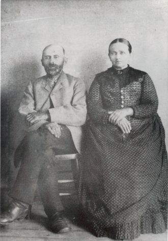 John & Sarah (Frey) Bruner, Nebraska 1880s